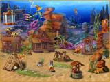 Fishdom H2O: Hidden Odyssey Windows Fully decorated Wild West aquarium.