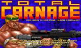Total Carnage Amiga CD32 Title screen