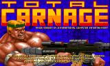 Total Carnage Amiga Title screen (ECS)