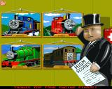 Thomas the Tank Engine and Friends Pinball Amiga CD32 Main menu