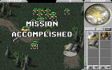 Command & Conquer DOS completing a mission