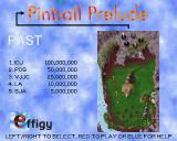 Pinball Prelude Amiga CD32 Three tables to choose from: Past