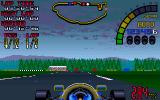 Nigel Mansell's World Championship Racing Amiga CD32 Driving in Germany