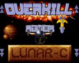 Overkill & Lunar-C Amiga CD32 Game selection