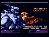 Uridium 2 Amiga Loading Screen