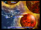 Gradius V PlayStation 2 Firing lasers at some large enemies