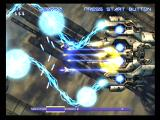 Gradius V PlayStation 2 A laser volley between you and a large enemy