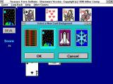 Treasure Trove Solitaire  Windows 3.x There is a choice of card backs