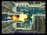 Gradius V PlayStation 2 Blasting through a narrow passage...