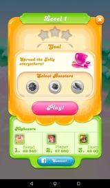 Candy Crush Jelly Saga Android The level 1 goal