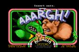 AAARGH! Arcade Title screen