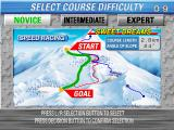 Alpine Racer Arcade Select course difficulty