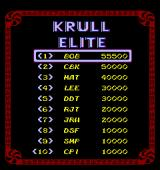 Krull Arcade The elite