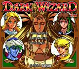 Dark Wizard SEGA CD Title screen