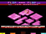 Flip and Flop Arcade Title screen