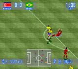 International Superstar Soccer SNES North Korea vs Brazil. Ballet?
