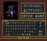 Dark Wizard SEGA CD You are allowed to name all of your troops.