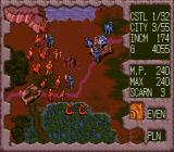 Dark Wizard SEGA CD Closing in on the enemy - the game also features a day and night cycle.