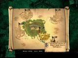 Robin Hood: The Legend of Sherwood Windows A world map which is accessible only in Sherwood forest, you select your next mission there