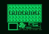 Bounder Amstrad PCW Title screen