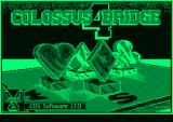 Colossus Bridge 4 Amstrad PCW Title screen
