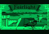 Fairlight Amstrad PCW Title screen