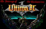 Ultima II: The Revenge of the Enchantress... PC-98 Title Screen (Pony Canyon)