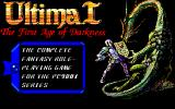Ultima I: The First Age of Darkness PC-98 Title Screen