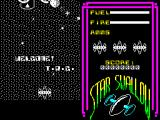 Star Swallow ZX Spectrum The beginning of the game