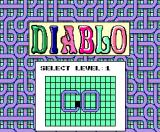 Diablo MSX Level select