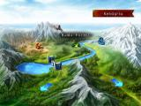 Lost Kingdoms II GameCube The map of locations you can visit