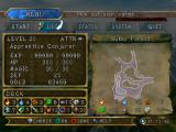Lost Kingdoms II GameCube The menu: begin this mission, or edit your deck?