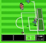 Nintendo World Cup NES TWO opponents were hit.