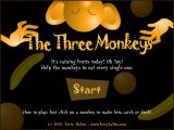 The Three Monkeys Browser Title screen