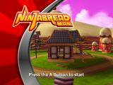 Ninjabread Man Wii Title screen