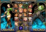 SoulCalibur II GameCube Choose your fighters!