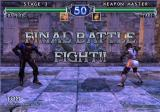 SoulCalibur II GameCube Final battle....Fight!!