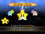 Mario Party 5 GameCube The main menu: choose a game option