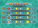 Mario Party 5 GameCube Mini game results
