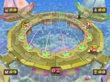 Mario Party 5 GameCube Fishing in a mini game