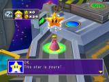 Mario Party 5 GameCube Peach wins the star!