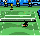 Snoopy Tennis Game Boy Color US Cup (Hard court).