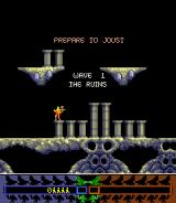 Joust 2: Survival Of The Fittest Arcade Game start