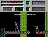 The Cyber Shinobi SEGA Master System Using a conveyor belt
