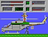 The Cyber Shinobi SEGA Master System Two astronauts joined together
