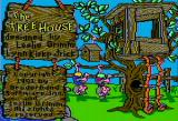 The Treehouse Apple II Title screen