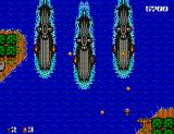 Bomber Raid SEGA Master System Those submarines look much bigger than you
