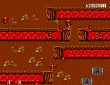 Bomber Raid SEGA Master System You wouldn't want to be hit with rocks coming out of lava pits