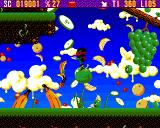 Zool Amiga Fruit World - This game is mainly about jumping & spinning (AGA version)