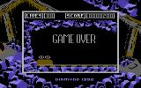 The Underground Commodore 64 Game over